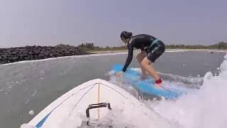 Surfing In Pondicherry India