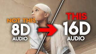 Ariana Grande - 7 Rings [16D AUDIO | NOT 8D / 9D] 🎧