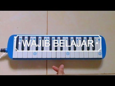 📚 Not Angka Pianika - Lagu Wajib Belajar | Ayyip Wo