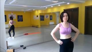 Растяжка плеч, рук, спины Stretching дома Уроки растяжки для начинающих