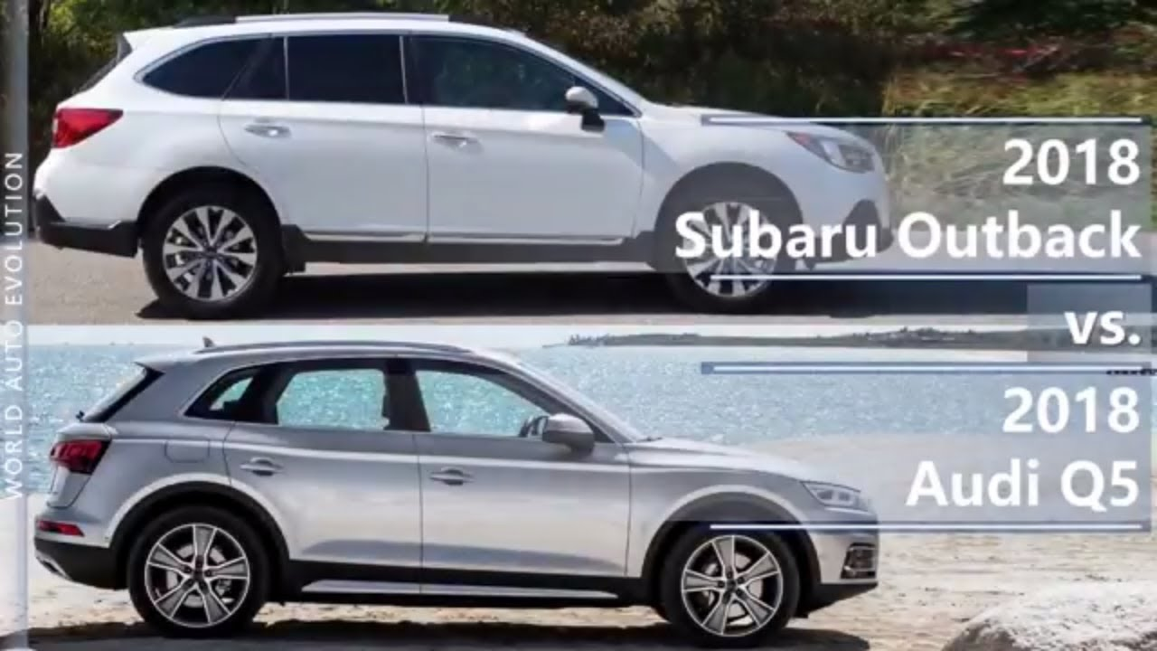 2018 subaru outback vs 2018 audi q5 technical comparison. Black Bedroom Furniture Sets. Home Design Ideas