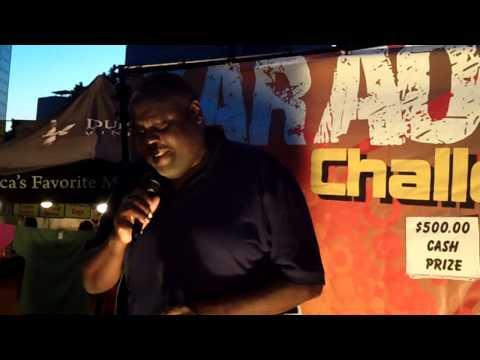 TheSingingChannel - Art Lomax - East West BBQ Fest. Karaoke Challenge 2013