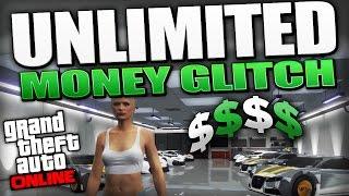 GTA 5 Glitches - UNLIMITED MONEY GLITCH After ALL Hotfixes Patch 1.15 (GTA 5 Money Glitch)