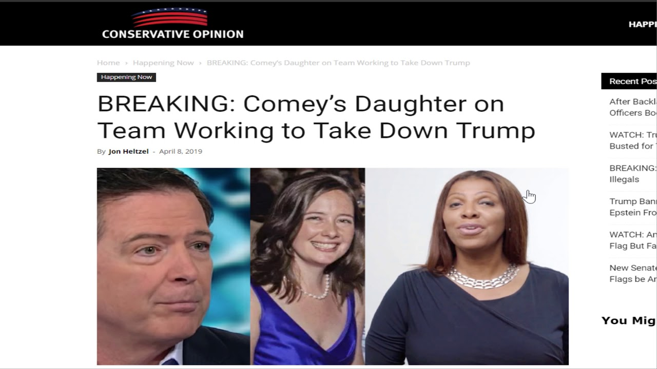 The Outer Light James Comey's daughter named as a prosecutor in Jeffery Epstein case