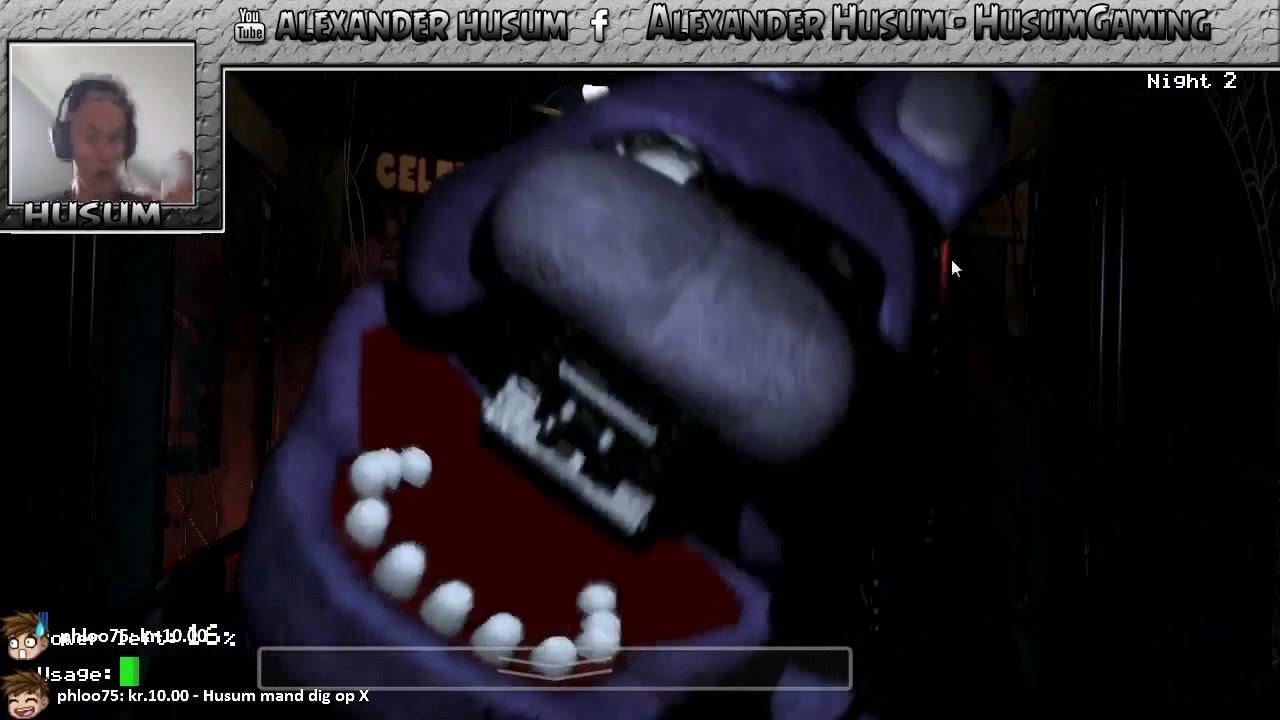 Five Nights At Freddys - Husum skider i bukserne