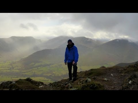 The Coledale Round, Lake District - 19 January 2014