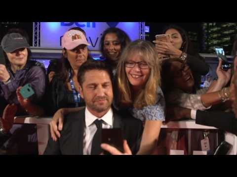 The Headhunters Calling: Gerard Butler TIFF 2016 Movie Premiere Gala Arrival