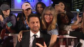 The Headhunters Calling: Gerard Butler TIFF 2016 Movie Premiere Gala Arrival