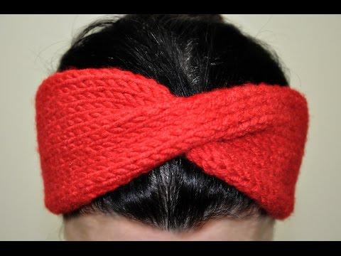 Örgüden Saç Bandı (Bandanası) Nasıl Yapılır? (Baştan Sona Anlatımlı) - örgü modelleri - knitting