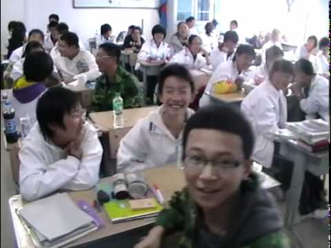 Another high school class in Harbin, China