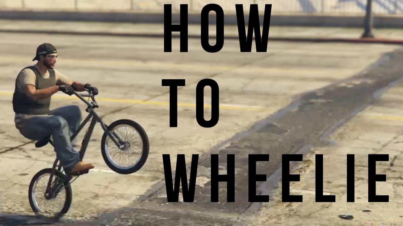 How To Wheelie A Bmx Bike In Gta 5 Youtube