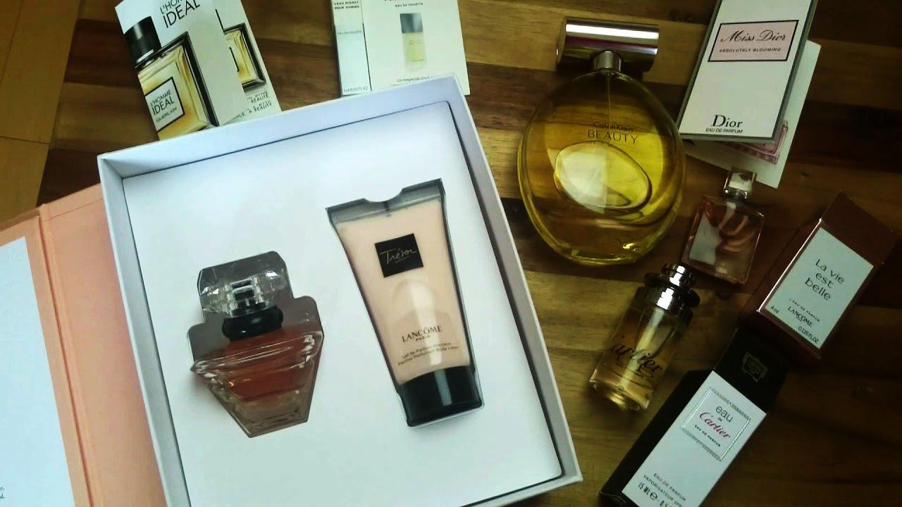 обзор покупок из Douglas духи крем Parfüm Lancome Tresor
