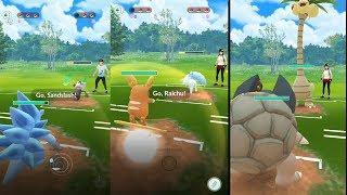 Alolan PVP Battle - Golem, Grimer, Raichu, Marowak and more in Pokemon Go!