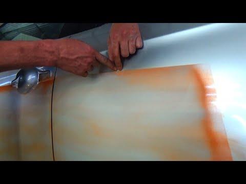 Большое дополнение:) Как вышкурить грунт к покраске, для новичков.