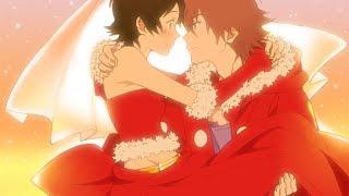 [AMV] Animes Epic Romantic Moments - little wonders