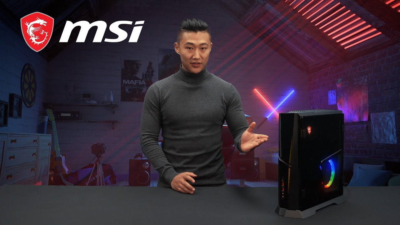 New MSI Trident X 9th Console-sized gaming PC | MSI