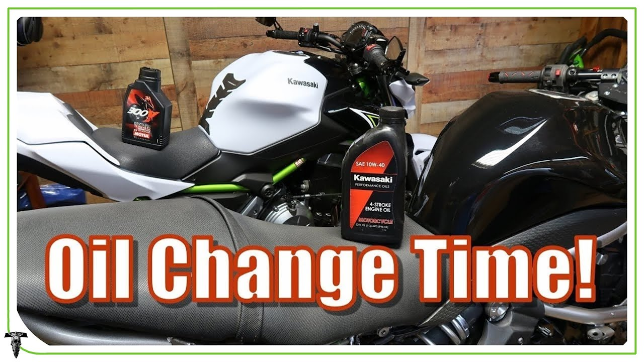 Changing Motorcycle Oil and Coolant | Ninja 650 Ride Rehab ep 7