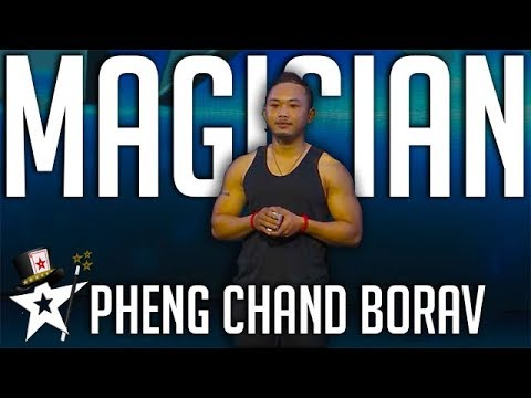 Card Illusionist Performs Magic on Cambodia's Got Talent | Magicians Got Talent