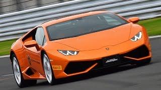 ランボルギーニの最新スーパーカー「ウラカン」の性能をサーキットで試...