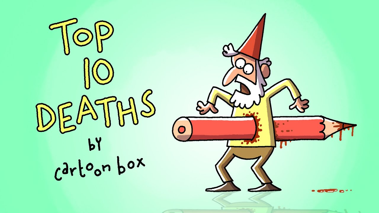 Top 10 DEATHS part 4 | The BEST of Cartoon Box | by FRAME ORDER | Funny Dark Cartoon Compilation