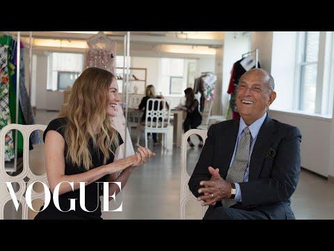 Kate Bosworth's Wedding Dress Fitting with Oscar de la Renta  Vogue Weddings  Vogue