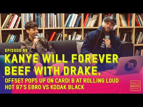 Kanye Will Forever Beef With Drake, Hot 97