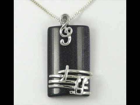 Music Jewellery - Pendants, Bracelets, Earrings & More from www.MusicGiftsOnline.co.uk
