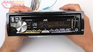 Автомагнитола JVC KD-R761EY с поддержкой iPod/iPhone Обзор avtozvuk.ua