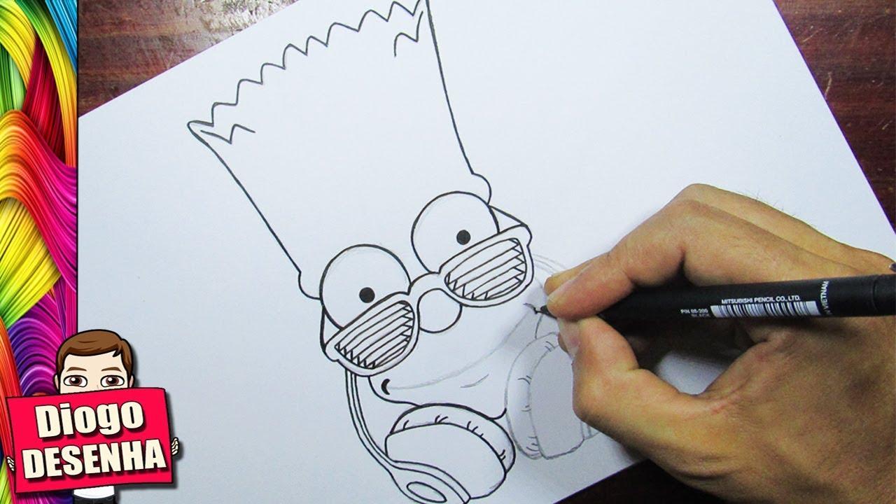 Como Desenhar O Bart Simpson Youtube