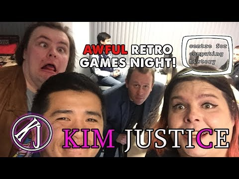 Awful Retro Games Night @ Centre for Computing History w/ Larry Bundy, Gannon & Quang - Kim Justice