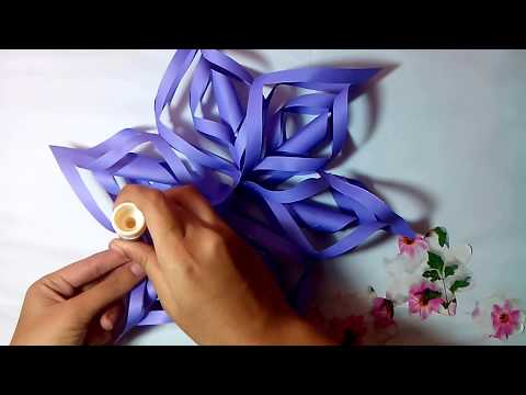 How To Make Snow Flower || DIY Snow Flower Making Tutorial || Crafts Design