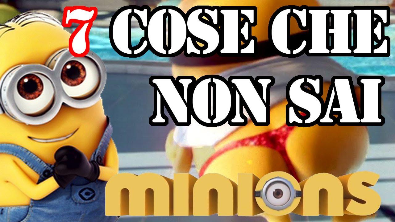 7 cose che non sai dei minions bananaaaaaaa youtube for Immagini dei minions da colorare