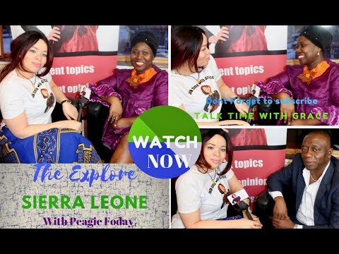 THE EXPLORE SIERRA LEONE EVENT with Peagie Foday