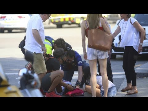 Thumbnail: Deadly terror attack on streets of Barcelona