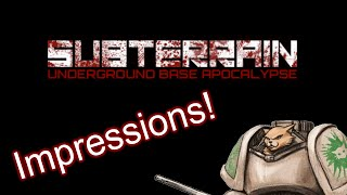 Subterrain Impressions / Review - Weekly Indie Newcomer