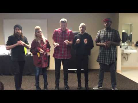 Pentatonix Daft Punk mix private performance