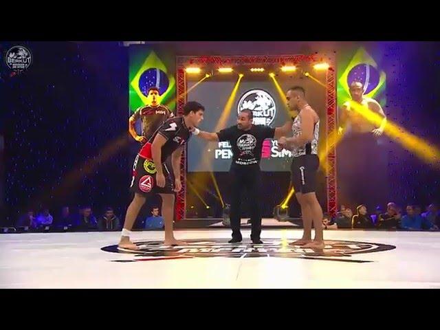 Yuri Simoes vs Felipe Pena at Berkut Jiu Jitsu 2
