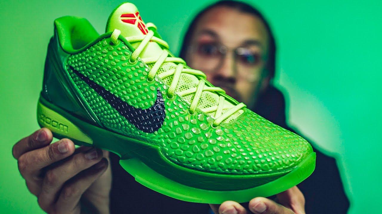 Nike Zoom Kobe 6 Protro Grinch