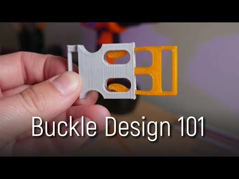 Designing Buckles, Clips and Snaps for 3D Printing - Detailed Guide thumbnail