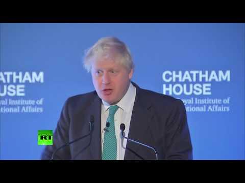 LIVE: Boris Johnson gives 'vision for Britain' speech at Chatham House