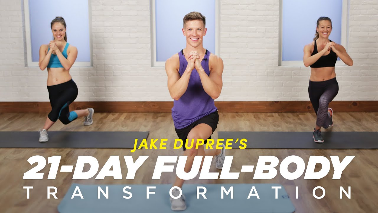 Try a Free Workout From Jake DuPree's 21-Day Full-Body Transformation