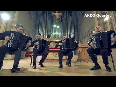 AKKO Quartet - Top Accordion Ensemble PROMO VIDEO | Квартет Баянистов | Квартет Баяністів | Баян