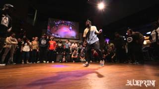 The Blueprint 2015 - House Dance Finals - Knoxander Vs Just Jamz