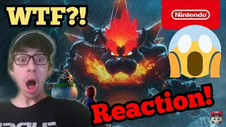 BOWSER LOOKS INCREDIBLE! || A Bigger Badder Bowser - Super Mario 3D World + Bowser's Fury REACTION!