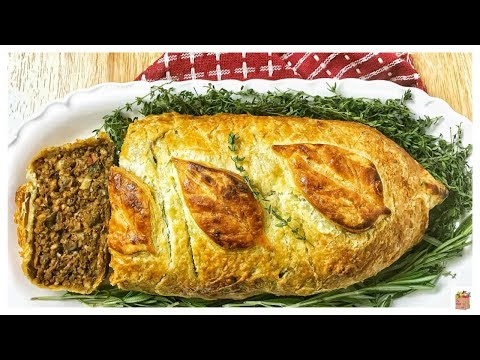Vegan Thanksgiving: Vegan 'Beef' Wellington | The Mushroom Den