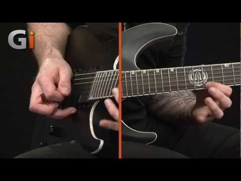 Andy James - Metal Edge Series - Sweep Picking Lesson Part 1 - Guitar Interactive Issue 16