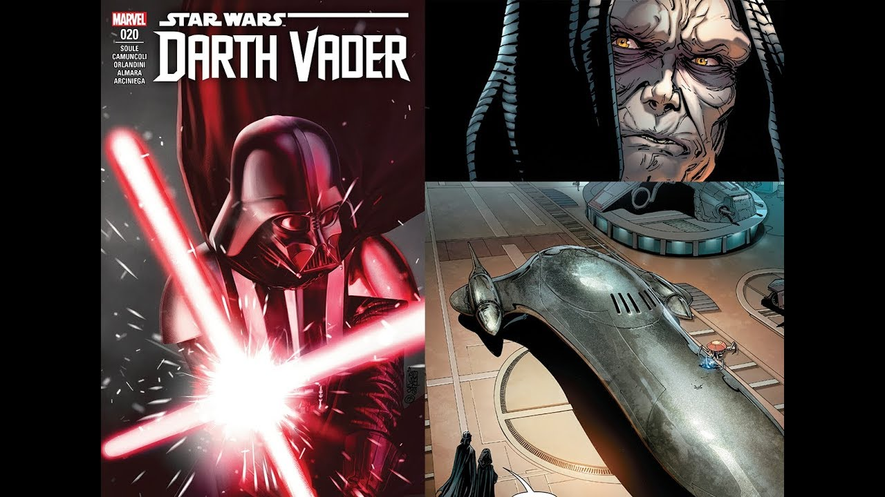 Darth Vader Canon Vs Ares Dceu: (Canon) Darth Vader #20 Fortress Vader Part 2 [Dark Lord