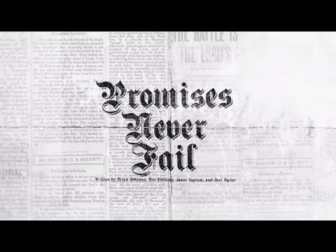Promises Never Fail (Official Lyric Video) - Bethel Music | VICTORY