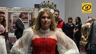 Уникальные коллекции представили на фестивале «Этностиль» в Минске