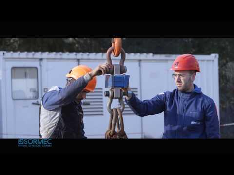 Sormec offshore knuckle boom crane M460/EL FAT